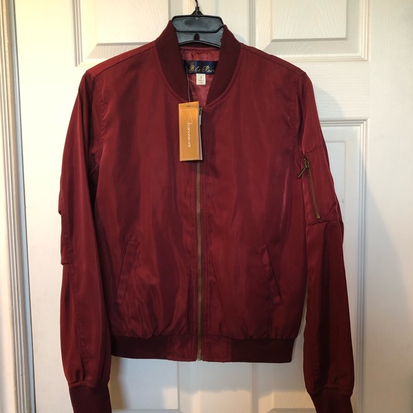 Francesca's Collections Jackets & Blazers - Lightweight Bomber Jacket
